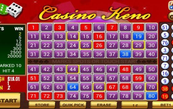 Dành chiến thắng với cách hướng dẫn chơi Keno online