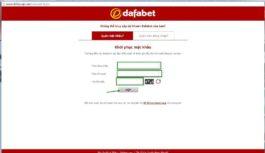 hướng dẫn đăng nhập dafabet
