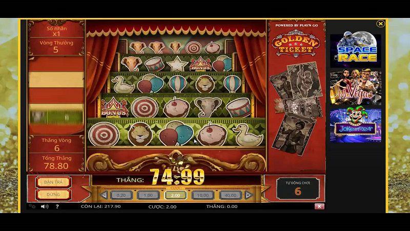 tiền thưởng casino vegas