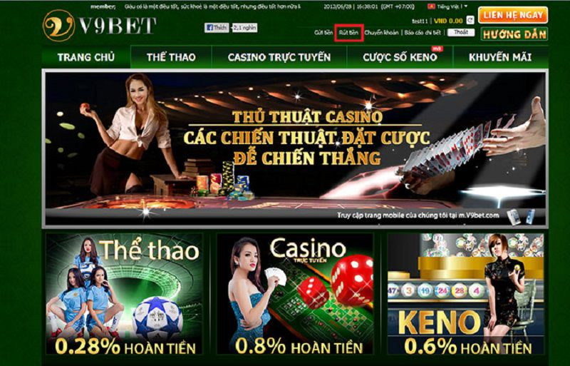 hệ thống casino trực tuyến