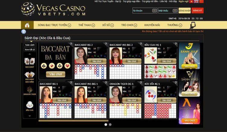 cách vào vegas casino khi bị chặn