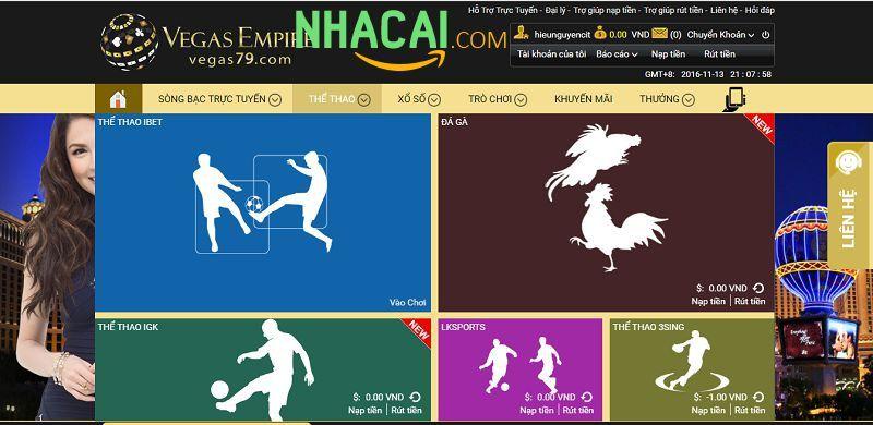 hướng dẫn đăng nhập vegas casino 2