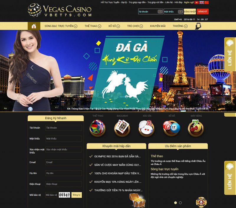 hướng dẫn nạp tiền vegas casino 2