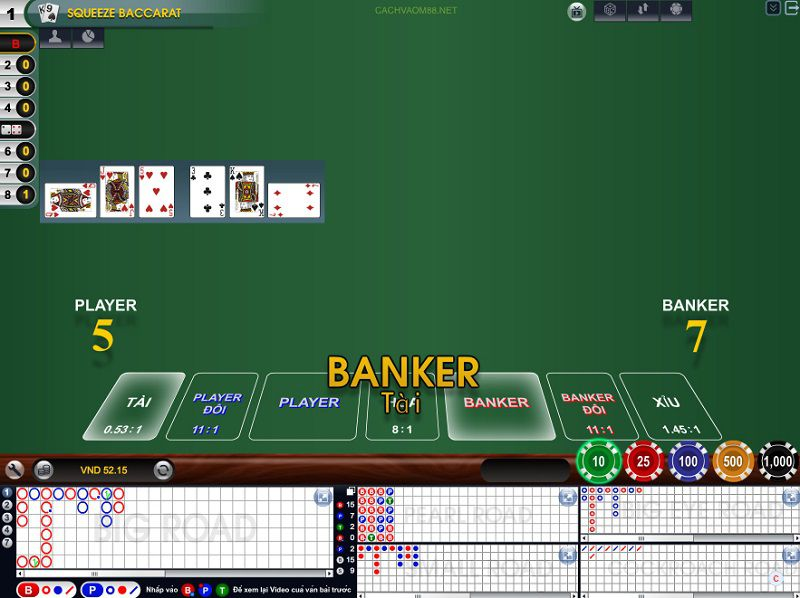 baccarat casino online