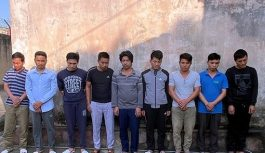 Nhóm đối tượng tham gia đánh bạc bị bắt giữ