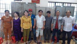 Bắt nhóm đối tượng đánh bạc tại huyện Long Thành