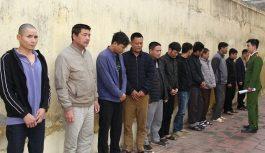 Triệt phá sới bạc bắt giữ 12 đối tượng tại Thái Bình