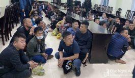 Triệt phá tụ điểm đánh bạc quy mô lớn tại Nghệ An