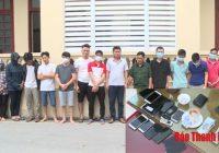 Triệt xoá ổ nhóm đánh bạc tại Thanh Hóa thu giữ hơn 100 triệu đồng