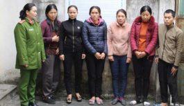 5 phụ nữ tổ chức đường dây lô đề tiền tỉ bị bắt
