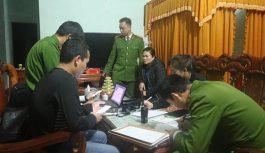 Triệt xóa 8 tụ điểm ghi lô đề ở Hà Tĩnh, bắt giữ 8 người có liên quan
