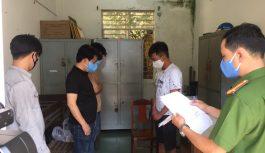Bắt quả tang nhóm đối tượng tổ chức đánh bạc tại Đà Nẵng