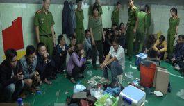 Triệt phá đường dây đánh bạc quy mô lớn tại Nghệ An