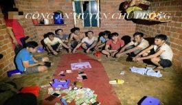 7 đối tượng vẫn tổ chức đánh bạc dưới hình thức xóc đĩa tại Gia Lai