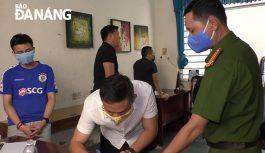 Tạm giữ 14 đối tượng về hành vi đánh bạc và tổ chức đánh bạc tại Đà Nẵng