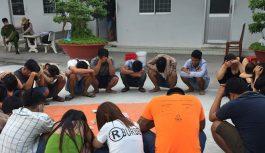 Bắt giữ 22 con bạc đang say sưa lắc tài xỉu tại An Giang