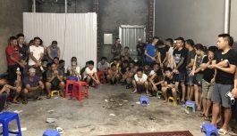 Phá đường dây đánh bạc khủng ở Bắc Giang, tạm giữ 73 đối tượng