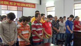 Công an tỉnh Hậu Giang xử 39 bị cáo cá cược đá gà ăn tiền
