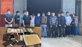 Hàng chục đối tượng đánh bạc bị bắt giữ tại Thanh Hóa