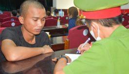 Bắt quả tang 28 người chơi xóc đĩa tại Quảng Nam