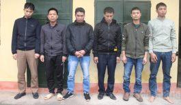 Nhóm đối tượng tham gia đánh bạc tại Bắc Giang bị bắt quả tang