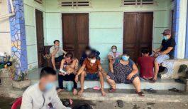 Bắt 8 người đánh bạc giữa mùa dịch COVID-19 tại Quảng Nam