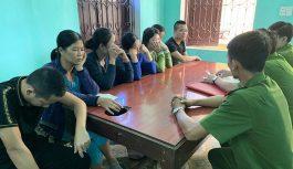 Tạm giữ 25 người về hành vi đánh bạc qua mạng tại Quảng Bình