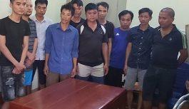 11 đối tượng tại Bắc Giang bị khởi tố về hành vi đánh bạc và tổ chức đánh bạc