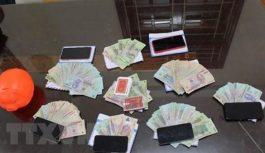 Triệt phá nhiều tụ điểm đánh bạc ngay trung tâm Thành phố Hồ Chí Minh
