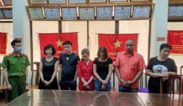 Bắt giữ 7 đối tượng đánh bạc với số tiền khủng tại Lạng Sơn