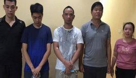Bắt giữ nhóm đối tượng tổ chức đánh bạc triệu đô qua mạng tại Hà Nội