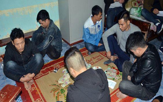 Bắt nhóm đối tượng tổ chức đánh bạc tại khu tập thể cơ quan nhà nước