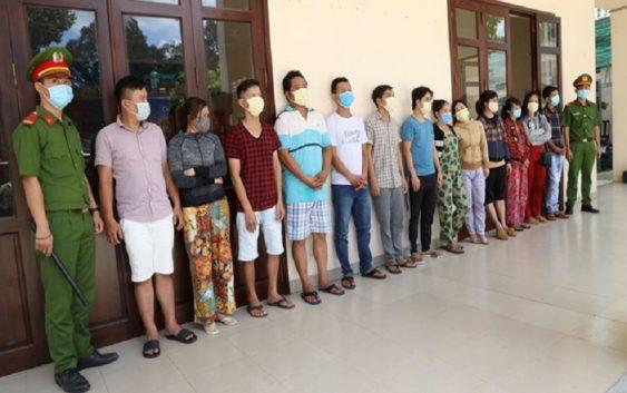 Phá đường dây thầu đề qua mạng quy mô lớn ở Tây Ninh