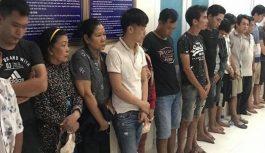 Phá một sới bạc do trùm cờ bạc ở Đồng Nai tổ chức, bắt 27 đối tượng