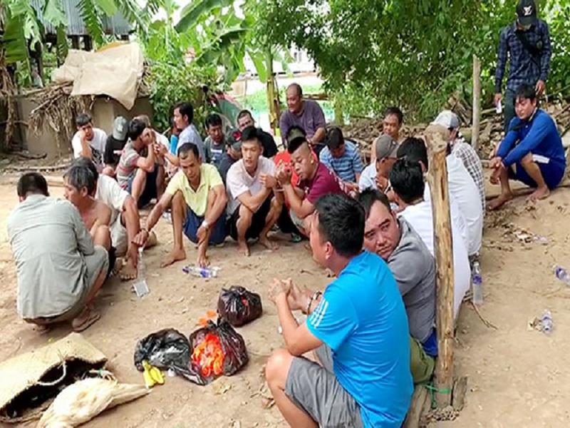 Triệt phá sới bạc tại An Giang, bắt giữ 27 đối tượng liên quan