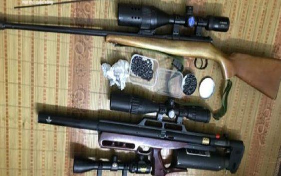 Triệt phá sới bạc tại Bắc Ninh, thu giữ 3 khẩu súng và 300 viên đạn