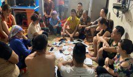 Triệt phá tụ điểm đánh bạc dưới hình thức xóc đĩa tại Lào Cai