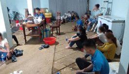 Triệt xóa ổ đánh bạc phố núi hoạt động tinh vi tại Đắk Nông