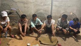 Bắt quả tang 06 đối tượng tụ tập đánh bạc trong nhà hoang tại huyện Nhơn Trạch