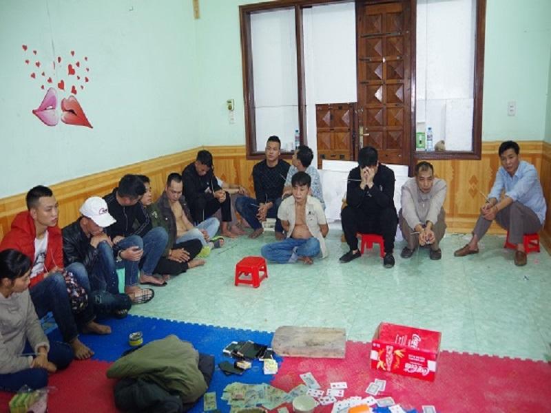 Triệt phá một sới bạc tổ chức trong đêm tại Hà Giang