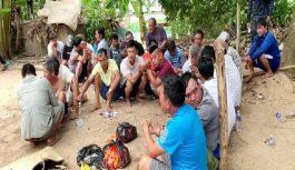 Triệt phá sới bạc vùng biên có nhiều người cảnh giới, bắt giữ 27 đối tượng