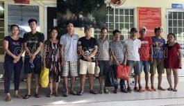 Triệt phá tụ điểm xóc đĩa tại phường Tân Biên với hàng chục con bạc tham gia