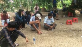 Bắt giữ 23 người trong đó có nhiều phụ nữ tại sới gà ở Tiền Giang