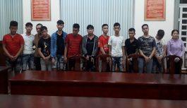 Bắt quả tang nhóm đối tượng tổ chức đánh bạc trong rừng ở Đồng Nai