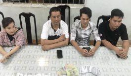 Công an Biên Hòa bắt nhóm đánh bạc trong quán cà phê