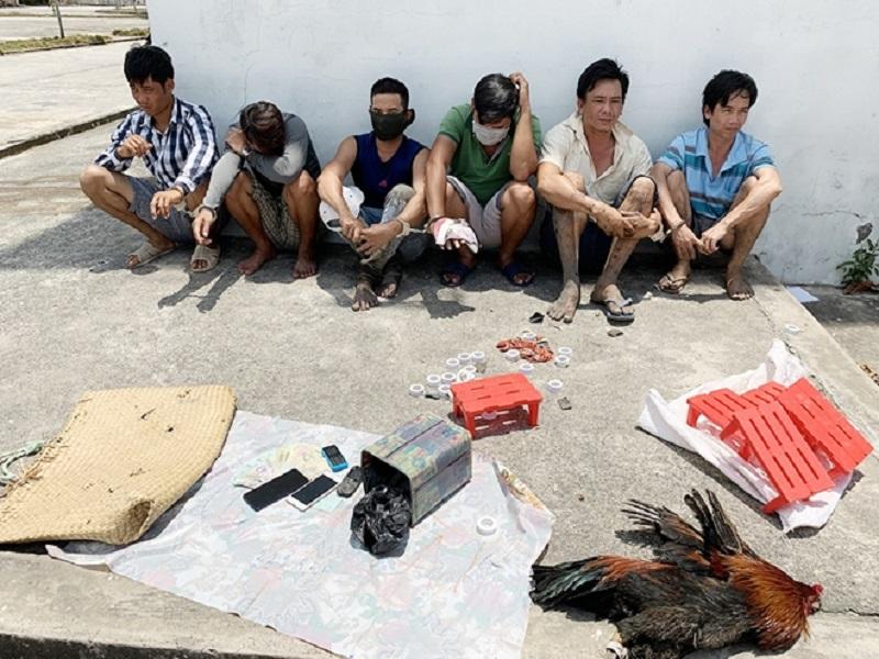 Triệt phá 2 ổ cờ bạc trong ngày chủ nhật tại An Giang