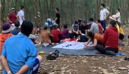 Triệt phá tụ điểm đánh bạc quy mô lớn trong lô cao su ở Bình Phước