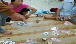 Công an xã Hải Ninh bắt giữ các đối tượng đánh bạc