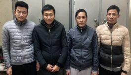 """Bắt 4 đối tượng """"giật liêng"""" ăn tiền tại Hà Tĩnh"""