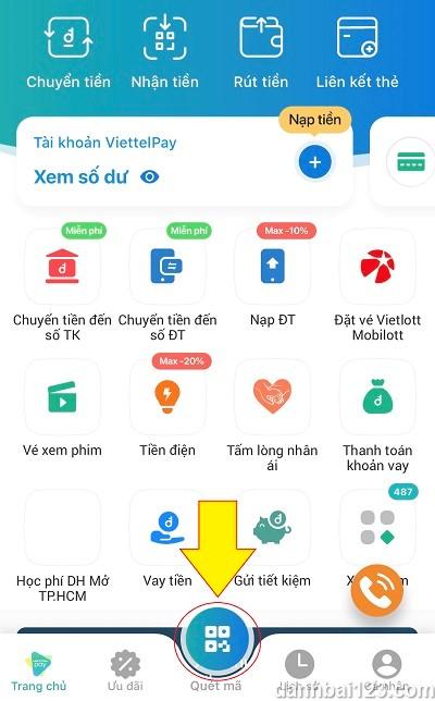 Cách gửi tiền vào Fun88 qua Viettelpay – Nhanh chóng chỉ trong 5 phút